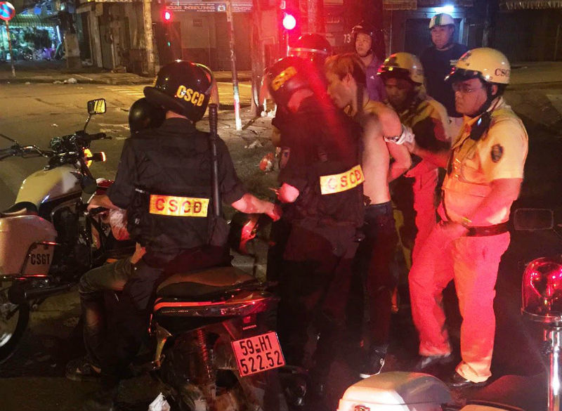 cướp tài sản, cướp Sài Gòn, cướp xe máy