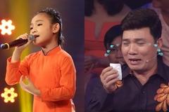 'Thần đồng dân ca' 7 tuổi hát như xé lòng Quang Linh, Cẩm Ly