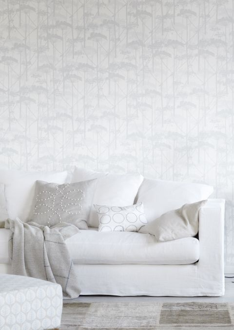 trần nhà thạch cao, giấy dán tường, thiết kế nhà