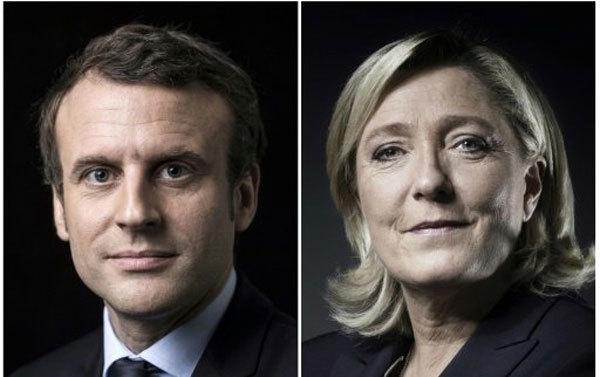 Macron đấu Le Pen trong bầu cử Tổng thống Pháp vòng cuối