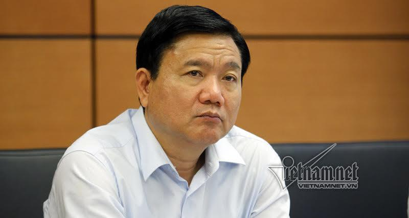 Ông Đinh La Thăng bị thôi chức ủy viên Bộ Chính trị