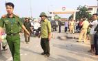 Xe tải cán chết cô gái trẻ ở Hà Nội