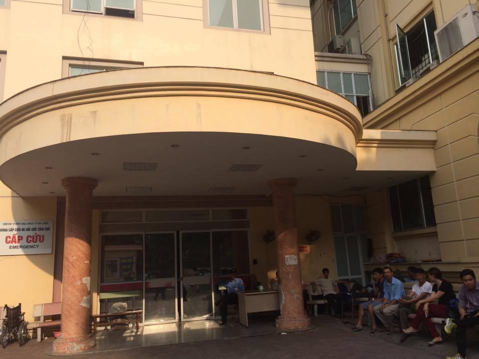 chém người, bệnh viện, video bên lề, bệnh viện đại học y hà nội