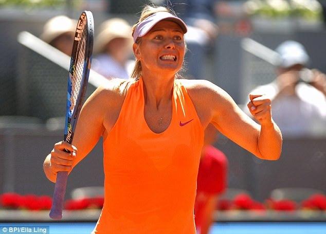 Tin thể thao sáng 8/5: MU đứt mạch 25 trận bất bại, Sharapova khởi đầu như mơ