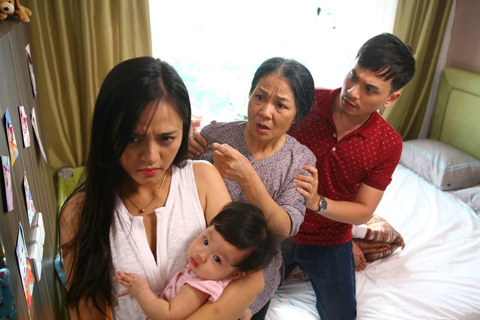 Diễn viên Thu Quỳnh sợ hãi khi diễn cảnh bóp cổ mẹ chồng