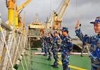 Tàu Cảnh sát biển 8004 thăm, giao lưu với Cảnh sát biển Trung Quốc