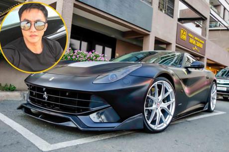 Siêu xe Ferrari độ tiền tỷ của Cường Đô la lên 'Báo Tây'