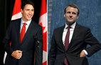 Tân Tổng thống Pháp và Thủ tướng Canada, ai đẹp trai hơn?