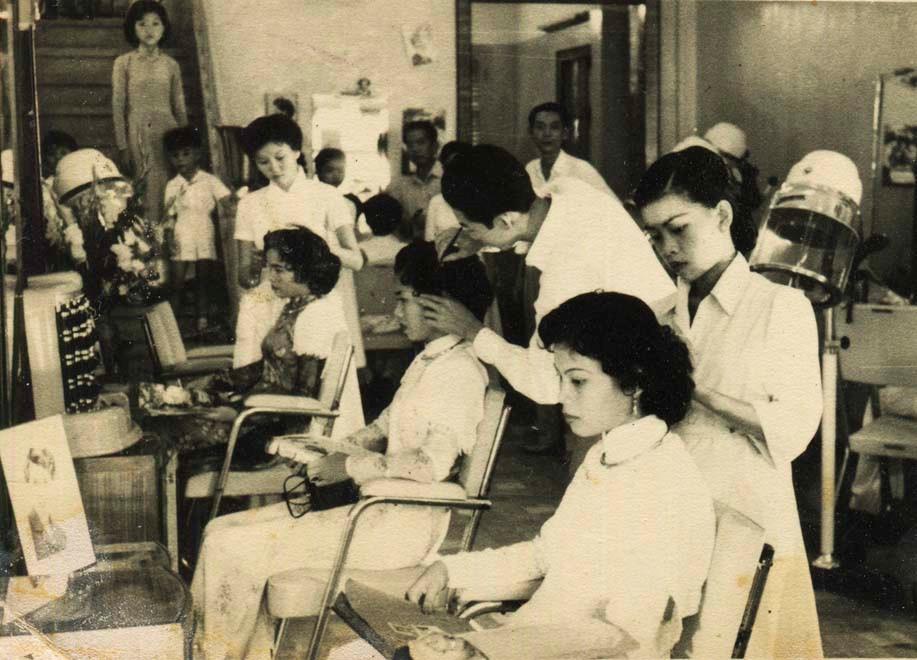 Làng cắt tóc Kim Liên, thời bao cấp, làm đẹp, thợ cắt tóc