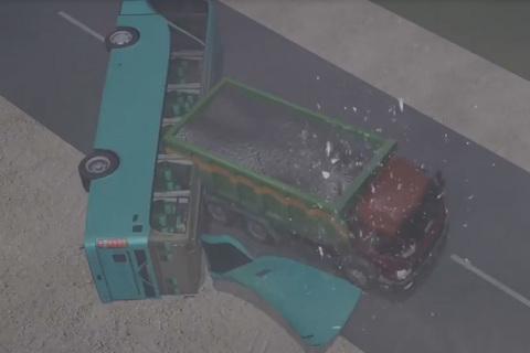 Vì sao ô tô hiện nay dễ bị biến dạng trong tai nạn?