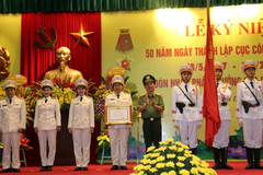 Cục Công tác chính trị nhận huân chương Quân công hạng ba
