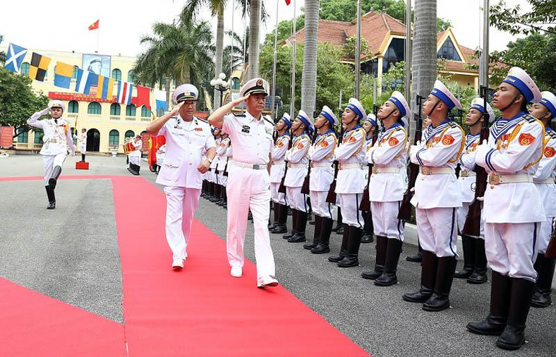 hải quân, hải quân Việt Nam, hải quân Trung Quốc, Việt-Trung