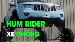 Xe hơi tự nâng cao bánh 3 m để chống tắc đường