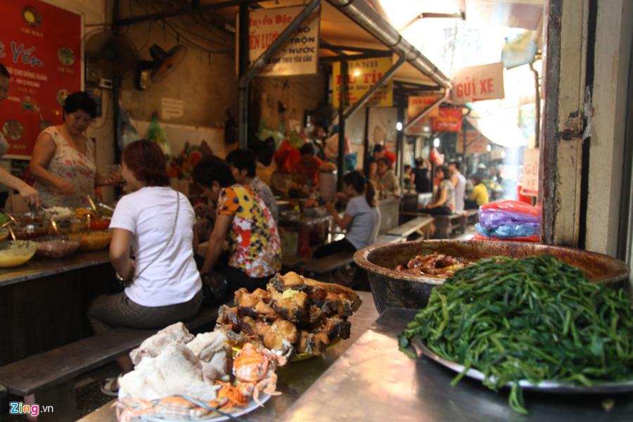 xôi Yến, hàng xôi, khách hàng, ẩm thực Hà Nội