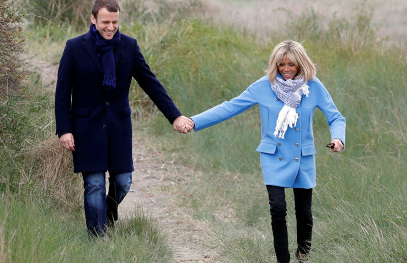 tân tổng thống Pháp, thời trang,