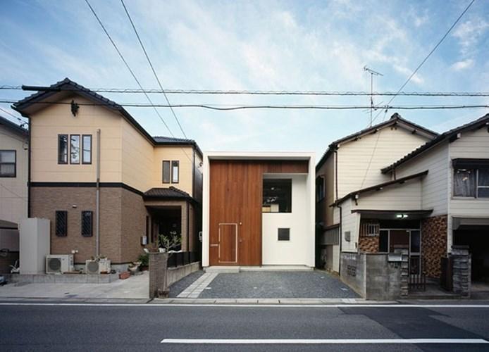 thiết kế nhà, mẫu nhà đẹp, mẫu nhà ống kiểu Nhật