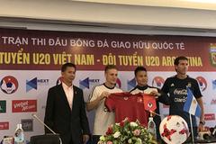 """HLV Hoàng Anh Tuấn tự tin """"chiến"""" U20 Argentina"""