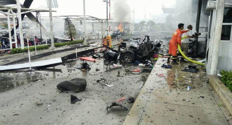 Nổ bom kép tại siêu thị ở Nam Thái Lan, nhiều người bị thương
