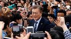 Ông Moon Jae-in 'thắng áp đảo' trong bầu Tổng thống Hàn Quốc