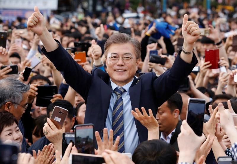 Moon Jae-in, Hàn Quốc, Tổng thống Hàn Quốc