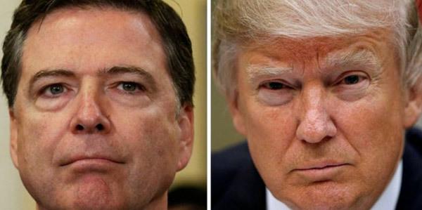 Donald Trump, FBI, sa thải, Jame Comey