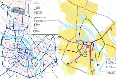 xe buýt nhanh BRT, quy hoạch Hà Nội, đường sắt trên cao