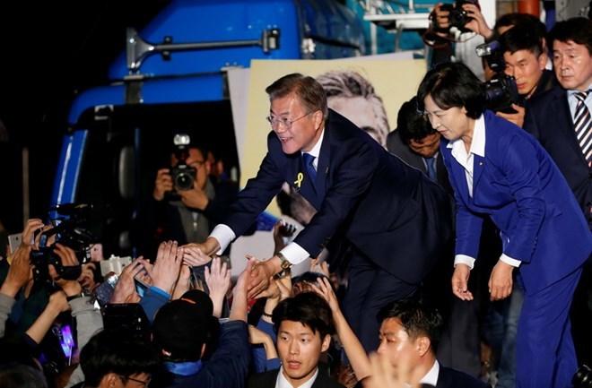 Moon Jae-in, tổng thống Hán Quốc, bầu cử tổng thống Hàn Quốc