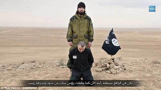 IS tuyên bố chặt đầu một điệp viên Nga