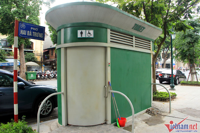 Hà Nội đưa vào sử dụng gần 100 nhà vệ sinh mới