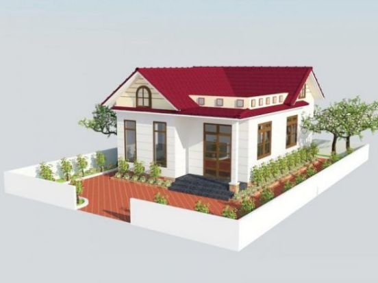 nhà cấp 4, xây nhà