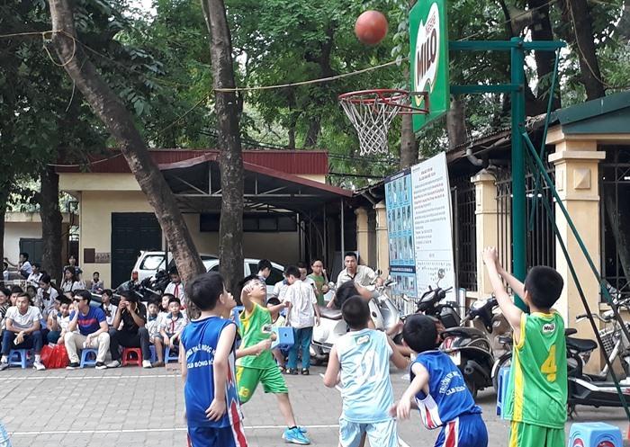 Giải Bóng rổ Học sinh Tiểu học Hà Nội lần thứ 11