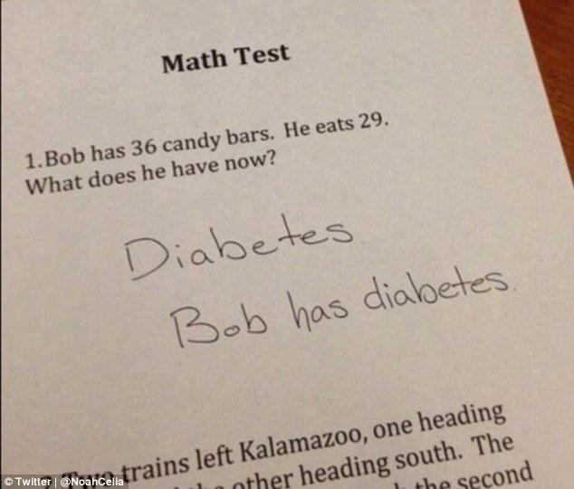 Những câu trả lời sáng tạo và hài hước nhất trong bài kiểm tra
