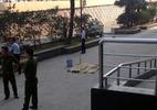 Người phụ nữ rơi từ tầng 5 chung cư ở Hà Nội