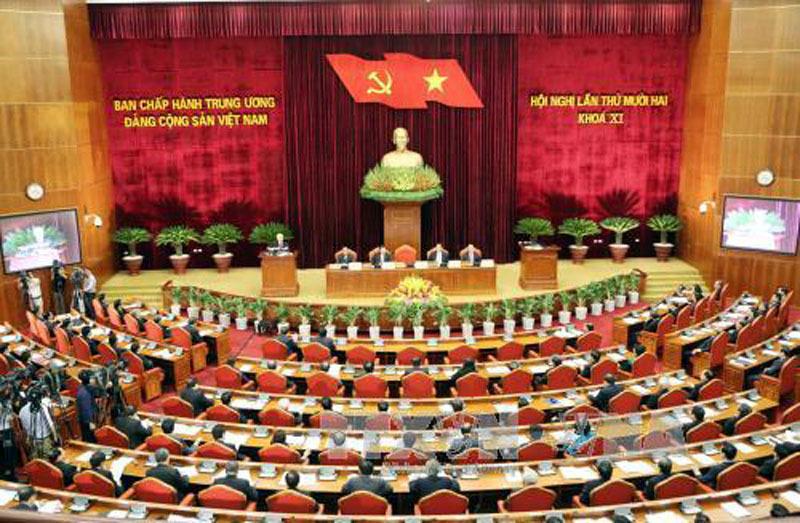 Hội nghị trung ương 5, Trung ương Đảng khóa 12, Ban chấp hành Trung ương, Tổng bí thư, Nguyễn Phú Trọng