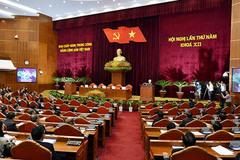 Thông báo hội nghị Trung ương 5