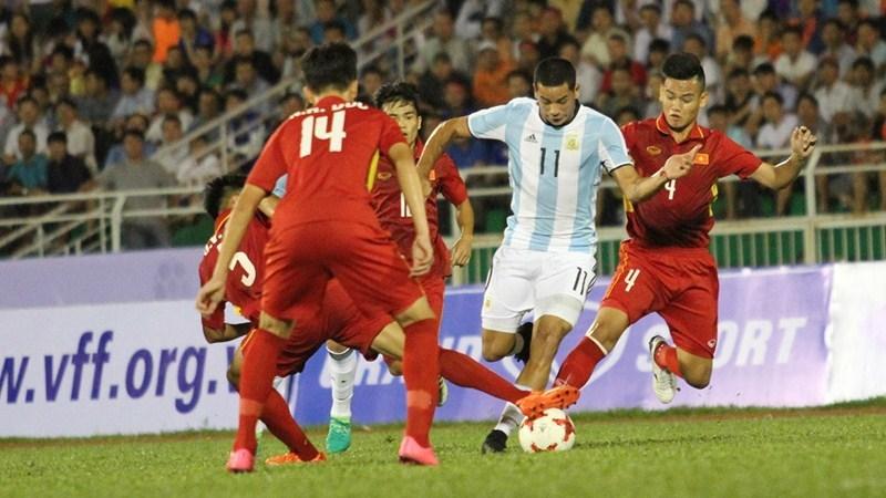 U20 Việt Nam, U20 Argentina, HLV Hoàng Anh Tuấn, giao hữu quốc tế