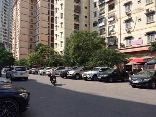 dự án chung cư, bãi đỗ xe, tầng hầm chung cư