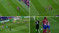 Pha qua người ảo diệu của Benzema khiến Atletico vỡ vụn