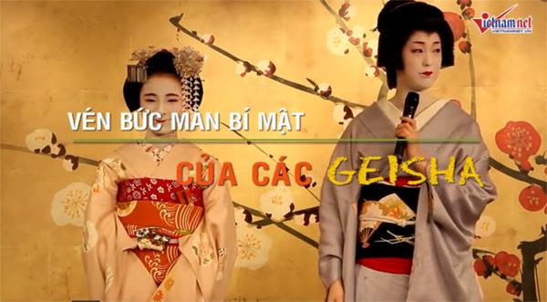 Vén màn sự thật của thế giới geisha