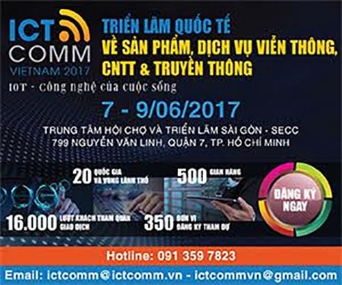 Gần 300 doanh nghiệp tham gia ICT Comm 2017