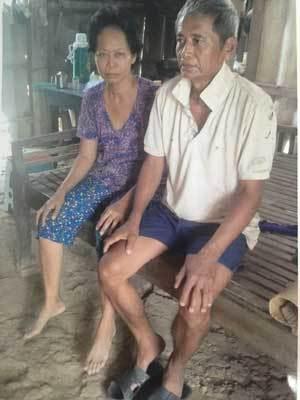 Hai vợ chồng mắc bệnh ung thư cầu cứu