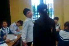 Giáo viên xử trí tình huống học sinh nói hỗn ngay trước mặt
