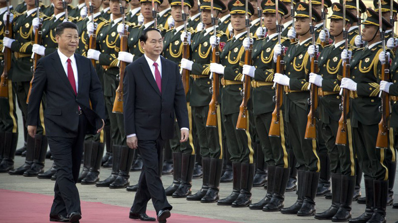 Chủ tịch nước Trần Đại Quang, Trần Đại Quang, Tran Dai Quang, Chủ tịch nước thăm Trung Quốc, Tập Cận Bình
