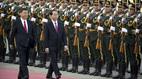 Trung Quốc bắn 21 loạt đại bác chào mừng Chủ tịch nước Trần Đại Quang
