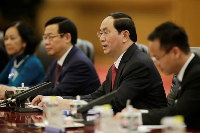 Chủ tịch nước Trần Đại Quang, Trần Đại Quang, Tập Cận Bình, Biển Đông, Tập Cận Bình thăm Việt Nam