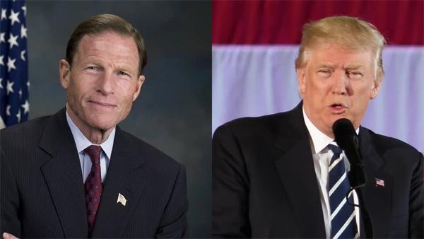 Donald Trump, thượng nghị sĩ, Việt Nam, Richard Blumenthal
