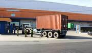 Container cuốn xe máy vào gầm, cán chết người đàn ông ở Sài Gòn