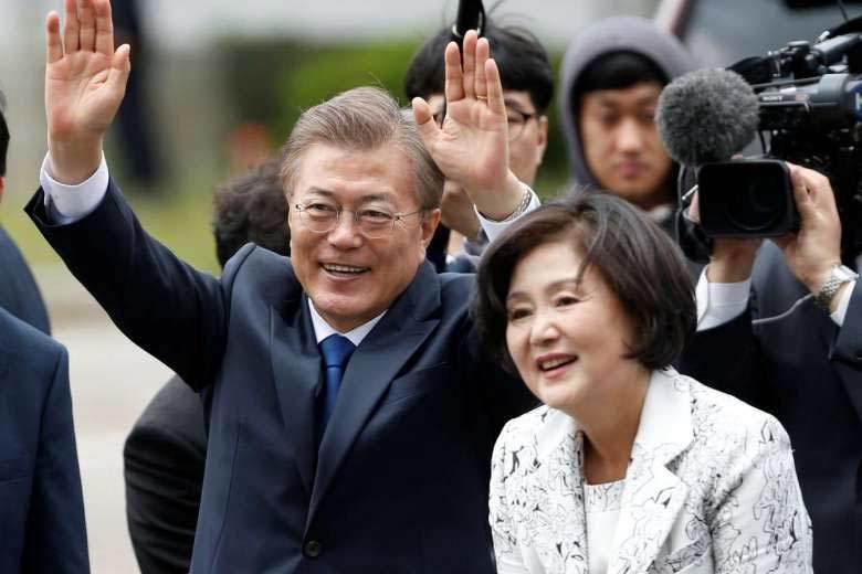 Đệ nhất phu nhân, tổng thống Hàn Quốc, Moon Jae-in