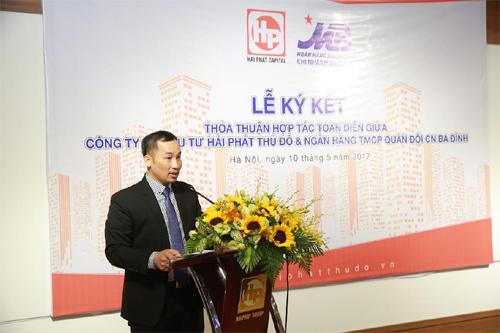 Hải Phát 'bắt tay' MB Ba Đình phát triển Landmark 105