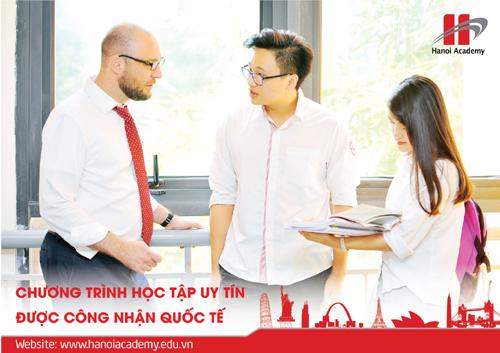 Trải nghiệm môi trường học tập quốc tế ở Hanoi Academy